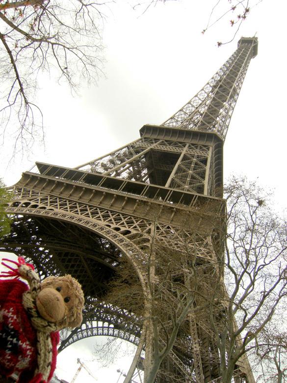 2008 義蔵・パリとモン サン ミシェルの旅~5日目(エッフェル塔と美術館とパリの街)