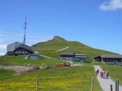 2008年スイス&イタリアで夏休み~(37)メンリッヒェンの山頂へ