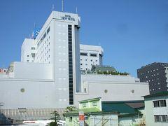 秋田ビューホテルと千秋公園