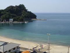松崎町の海岸線