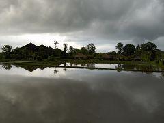 インドネシア 一人旅 1      雨の朝、ウブドを歩く(カラーモノクロ)