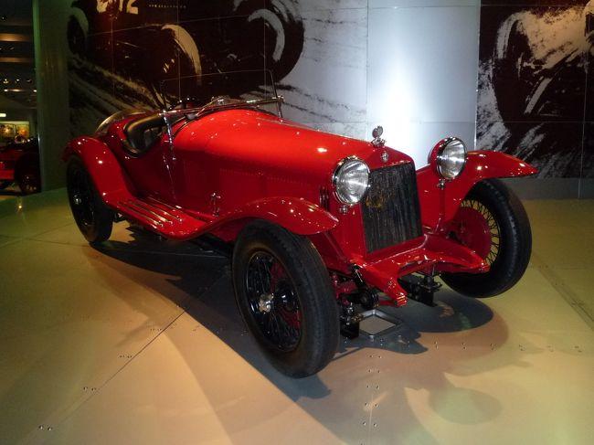 ダイムラーベンツ、アルファロメオなど海外の伝統ある自動車メーカーでは当たり前ですが、自動車文化の伝統のない日本の自動車メーカーでは初めての自動車博物館がトヨタ自動車によって1989年に設立されました。表紙は展示車のアルファロメオ1750GS、理由は完璧なまでのプロポーションと躍動感。スポーツカーの極致の1台でしょう。<br /><br />遅ればせながら私も博物館を訪問してきました。旅行記の最後に自動車好きならウーン!と唸るようなモノが入っていますよ。