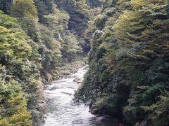 初秋の奥多摩・鳩の巣渓谷を歩く