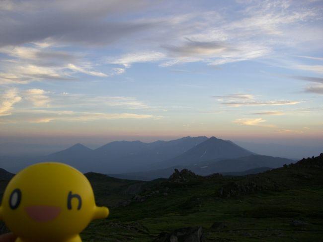 1~4日目は移動と観光を思う存分満喫。<br /><br />5日目からは本当の目的である登山をしてきました。<br /><br />●山域  大雪山系<br />●日程  6泊7日<br />●登山口 十勝岳温泉