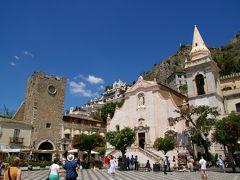南イタリア&クロアチア旅行?シチリア島(シラクーサ→カターニャ→タオルミーナ)