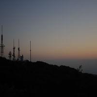 夕陽を求めて!生駒山へ。