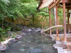 浄蓮の滝と嵯峨沢館