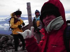 乗鞍岳で初雪体験