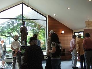 運転手付き車でアユタヤ新装なった日本人町とナレスワン王像を見学