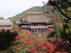 11月の後半の三連休で京都に行ってきました