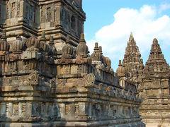 インドネシア19   プランバナン史跡公園、ロロ・ジョングラン寺院