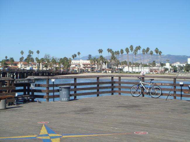LA郊外のサンタバーバラに住む友達に会いに♪ ついでにラスベガスにも行ってしまえ〜と 結局弾丸ツアーになってしまいました。<br /><br />パッケージツアー:R&C Tours(ワールドバケーション)<br />エアライン:ノースウェスト航空(指定)<br />ホテル(ロサンゼルス市内):ウィルシャー グランド ロサンゼルス<br />送迎付き:エレファント ツアー(空港⇔ホテル間)<br /><br />