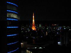 東京タワーを部屋から眺めて