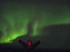【オーロラ】フェアバンクス5日間・・のはずが・・?スキーランドでオーロラを(1日目)