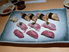 福岡・天神で友人と再会&『ひょうたん寿司』でサカナ三昧◆2008最後の旅行は九州の滝めぐり【その2】
