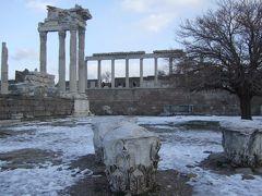トルコ旅行記①トルコまでの長い道のりとベルガマ遺跡アクロポリス