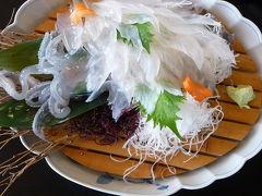 2日目の昼食はイカの活け造り◆2008最後の旅行は九州の滝めぐり【その5】