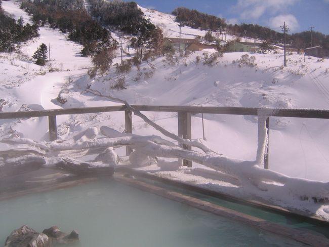 白濁した湯に初めて入ったのが、ここ万座温泉!<br />スキー場を見上げながら入った露天風呂からの眺望が忘れられなくて、何度も訪れています。<br />湯よし・眺望よし・ムードよしの癖になる温泉です。<br /><br />白根山の懐、標高1,800mに位置し、日本最高所の温泉で「星に一番近い温泉」として知られている。<br />昔から豊富な湯量で、泉質は27種類を数え、効能も多彩。<br />スキー場トップからの北アルプスの眺望は素晴らしい。<br />宿は点々とあり、温泉街はない。<br /><br />過去に、お泊りした宿は2軒。<br />プリンスホテルと万座温泉ホテル(ともにスキーシーズン)<br />日帰り利用は、春の志賀高原・秋の草津の寄り道。<br />思い出のページを捲りながらUPして行きます。<br /><br />今回は、「極楽の湯」でアヒル隊長の初露天です。<br /><br /><br /><br /><br /><br />