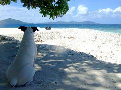 第7旅行目:チューク旅行 ③ジープ島上陸
