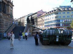 チェコ プラハの鉄砲隊