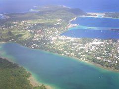 2007 バヌアツ共和国 タンナ島へ(エファテ島上空)