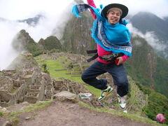 やってきたぜ!! 2009 ペルー 『雨よ上がれ!!雲よなくなれ!!見えたぜ♪マチュピチュ♪』 IN マチュピチュ