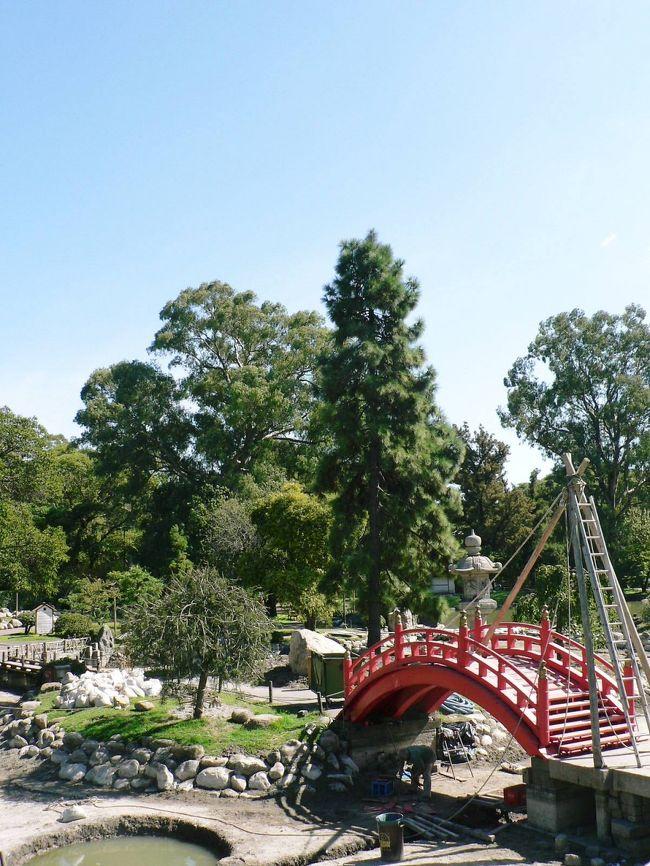 ブエノス・アイレスは48の地区に分けられているアルゼンチンの首都で各地区で見所が多かった。パレルモ地区ではイタリア広場、カルロス・タイス植物園、エビータ博物館、5月革命記念碑、日本庭園などを訪問した。日本庭園は日本人移民の人達がブエノス・アイレス市民に感謝をこめて寄贈したもので鯉が泳ぐ池、赤い太鼓橋、釣鐘など日本らしい風景が見られた。文化センターでは雛人形、着物、琴、生け花、茶室、短歌、俳句、禅などを実物や写真で紹介していた。日本人が忘れかけている日本文化の素晴らしさをアルゼンチンに移民して、祖国日本に思いをはせながら異国の地の開拓に心血を注いできた人達が思い出させてくれた。日本を離れ遠い故郷を懐かしむ人達のほうが日本の良さが解るのかもしれない。アルゼンチンの人達と日系人との交流の集いも毎月のように催されており、日系人が現地人に溶け込むために不断の努力をされていることも解った。日本庭園はブエノス・アイレスで訪問した中で印象に強く残っているひとつだ。ブエノス・アイレス国立美術館はアルゼンチンの画家 の作品に加えモネ、マネ、ゴーギャン、モジリアーニ、ロートレック、ピカソ、ツグハル・フジタ、ドガ、ゴッホ、ルノワール、ロダンなど世界の巨匠の作品が1万点も所蔵されており、しかも無料で見学でき写真もOKという至れり尽くせりの美術館だった。アルゼンチン国民の世界の文化遺産を人類で共有しようという懐の深さが印象に残った。関連旅行記−中南米・バックパッカーの旅【20】 南米のパリ、アルゼンチンのブエノス・アイレス1日目と2日目−http://4travel.jp/traveler/sasuraiojisan/album/10058539/関連旅行記−中南米・バックパッカーの旅【21】 南米のパリ、アルゼンチンのブエノス・アイレス3日目と4日目−http://4travel.jp/traveler/sasuraiojisan/album/10058545/関連旅行記−中南米・バックパッカーの旅【22】 南米のパリ、アルゼンチンのブエノス・アイレスで出会った人達−http://4travel.jp/traveler/sasuraiojisan/album/10058550/(写真は日本庭園)