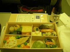 ★2009東京★日帰り東京でご飯&羽田~伊丹の機内食