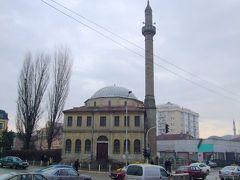 コソボ共和国のプリスティーナの街並み。