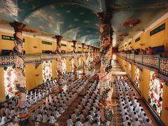 ベトナムの振興宗教 カオダイ教の総本山を訪ねて