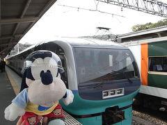 グーちゃん、花見合宿に参加する!(スーパービュー踊り子号編)