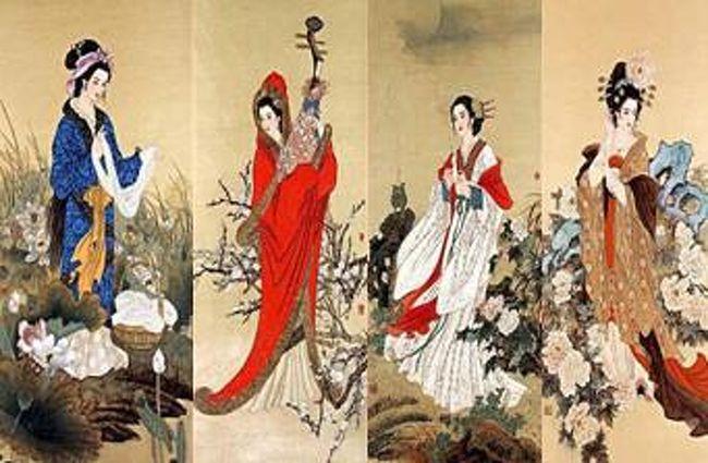 中国古代四大美人』中国の旅行記...