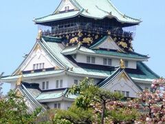2年ぶりの大阪城登城