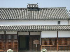 今井町は環濠に囲まれた町だった。めずらしい町並み。