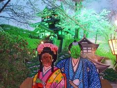 高田公園・満開の夜桜♪