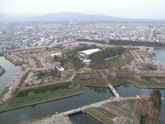2009年GW北海道 その6 富良野から桜満開の五稜郭を求めてまた函館