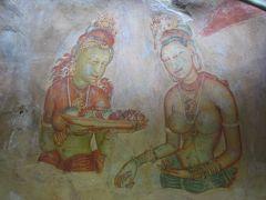 スリランカの旅(3)・・狂気の王カーシャパをシーギリヤ・ロックに訪ねて