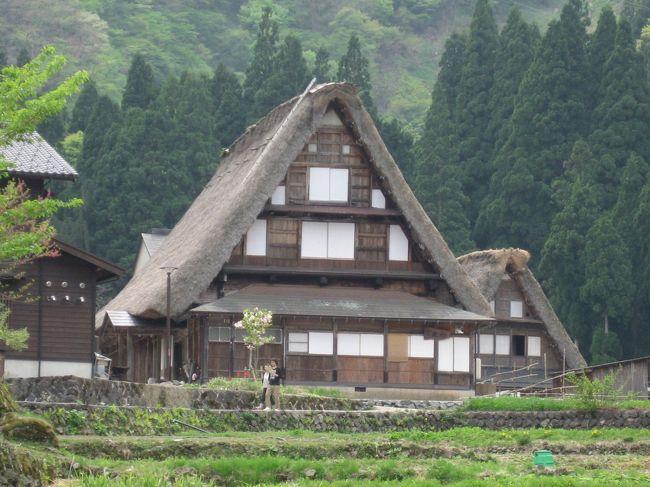 日本海には普段縁がないので、今回日本海に沿って走るのはちょっと楽しみだったんだよね。<br />天気予報では曇りのち雨だったけど、天気も持ったようで何よりです。<br />いよいよ、この旅のハイライト、五箇山ー白川郷へ向かいます。<br /><br /><br /><br />5/3(日)横浜ー松本・青木湖泊<br />http://4travel.jp/traveler/mimicat/album/10333579/<br /><br />5/4(月)青木湖ー糸魚川・親不知ー五箇山ー白川郷ー高山泊<br />五箇山 http://4travel.jp/traveler/mimicat/album/10333701/<br />白川郷 http://4travel.jp/traveler/mimicat/album/10333721/<br /><br />5/5(火)高山市内ー松本経由横浜<br />http://4travel.jp/traveler/mimicat/album/10333751/<br />