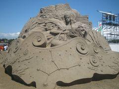 09年吹上浜の砂の祭典