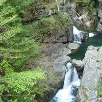 滝紀行◆みたらい渓谷の二つの滝『みたらい滝』『光滝』(奈良県天川村)