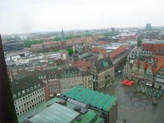 ブレーメン&ウィーン 2009春 聖ペトリ大聖堂~塔の上から町を眺めよう~