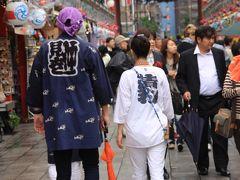 祭の喧騒を逃れて、ぶらり浅草街歩き
