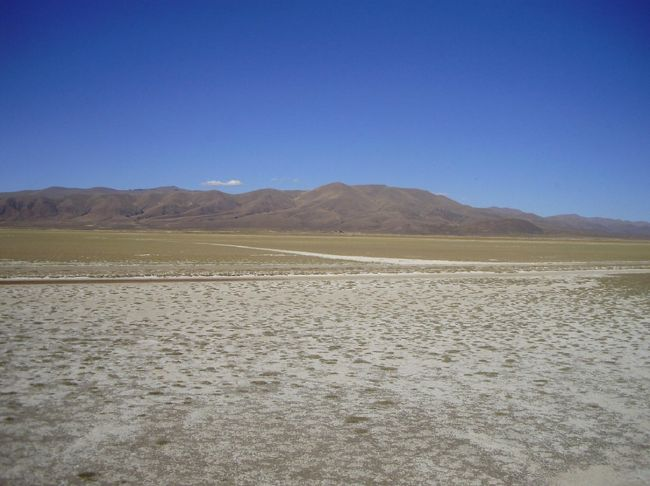 オル−ロ(高山地帯)<br />州人口:393,991人           オル−ロ市人口:248,273人<br />面積:53,588Km            標高:3,700m。<br />オル−ロはなんと言ってもカーニバル。リオのカーニバルについで南米最大のお祭り。中には50Kg近くもある衣装と仮<br />面を身につけて8日間も踊りつづけるそうです。ウユニ塩湖ヘバスと列車が走っている。宿泊施設とレストランは、整っております。<br /><br />オルーロからウユニ塩湖の列車の旅は、格別だあー。アンデス山脈を約7時間をかけてゆっくりと走っている。観光客が最も望む陸路移動の乗物。まず、オルーロを出発して10分すると、列車は、ウル ウル(URU URU)湖のど真ん中をゆっくりと突通って行きます。車窓からの眺めは、最高だあー! 特に、ピンク色のフラミンゴは、本当に美しい!ただ、フラミンゴは生きものなので、いつでも見れるとはかぎりません。ウルウル湖には、いろんな野鳥が生殖しているので、フラミンゴが<br />見れなくても十分楽しめます。湖をすぎると、アンデスの住民の田畑、放牧しているアルパカ、ヤマ等を見ていると安らぐ。運が良ければ、野生のビクニャーも見る事が出来きる。<br />