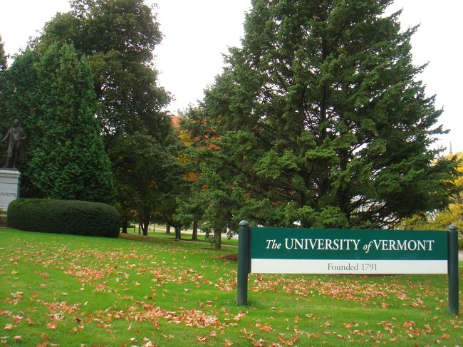いとこの通う「バーモント大学」を訪問しました。<br />地元の大学生にまじり、貴重な時間でした!