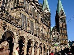 ★春のドイツ(3)ブレーメン到着 市庁舎周辺へ