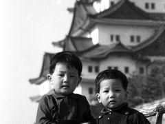 昭和40年4月名古屋城と東山動物園