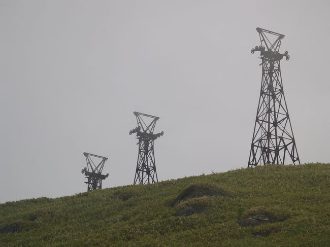 群馬・長野県境にある小串硫黄鉱山(小串鉱山)跡には2000m近い豪雪地帯という厳しい環境の中、最盛期には約2100名の方が暮らしていました。<br /> 40年前に廃鉱になるまで、国内最大級の硫黄鉱山として、国の発展を助けたことでしょう。<br /><br /> 2009年6月下旬、かつての賑わいはなく、静けさを取り戻したこの鉱山跡を訪ねることにしました。<br /><br /> なお、周辺にある他の硫黄鉱山も訪れています。こちらも是非、ご参照ください。<br />石津硫黄鉱山 http://4travel.jp/traveler/urayama-tanken/album/10421379/<br />吾妻硫黄鉱山 http://4travel.jp/traveler/urayama-tanken/album/10391353/<br /><br />小串硫黄鉱山の経緯<br />大正5(1916)大日本硫黄?高井鉱山として採掘開始<br />大正6(1917)東洋硫黄?に経営委譲<br />昭和4(1929)北海道硫黄?が買い受け<br />昭和9(1934)尋常小学校小串分教場開校<br />昭和12(1937)大地滑り発生。死者245名<br />昭和13(1938)操業再開<br />昭和15(1940)小串文教場に高等科設置<br />昭和21(1946)小串鉱業所労組設立<br />昭和28(1953)毛無隧道貫通。須坂万座間の定期バス運行開始<br />昭和32(1957)鉱山の最盛期。従業員625名、硫黄生産年間2万3千t<br />昭和33(1958)希望退職募集。61名の人員整理。<br />昭和38(1963)小串小・中学校生徒数最高の296名、教師15名<br />昭和40(1965)村立小串幼稚園新築開始<br />昭和43(1968)小串地区からの集団移住地「緑丘」宅地造成開始<br />昭和44(1969)小串小・中学校体育館完成<br />昭和46(1971)閉山