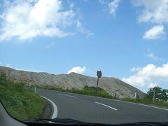草津白根ルートをドライブ! 車窓の景色です。