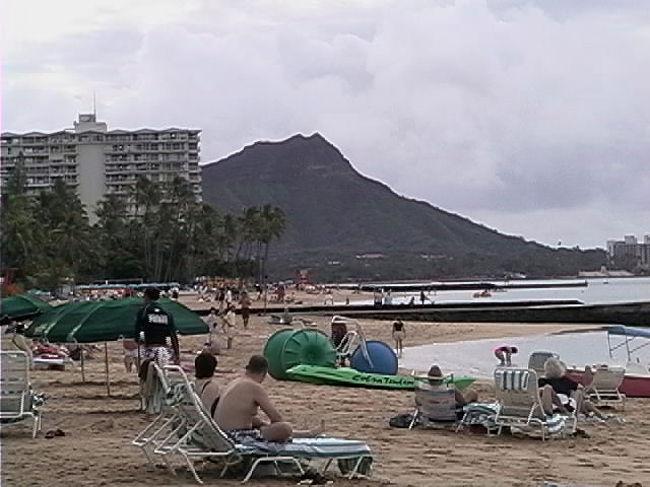 ハワイ6日間 4日目「ビーチとプールと」