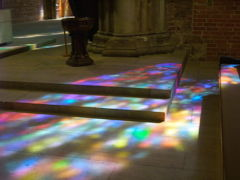 ブレーメン&ウィーン 2009春 聖母教会~降り注ぐ七色の光~